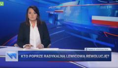 Wiadomości TVP poświęciły dużo miejsca Trzaskowskiemu i zwróciły się do wyborców Bosaka