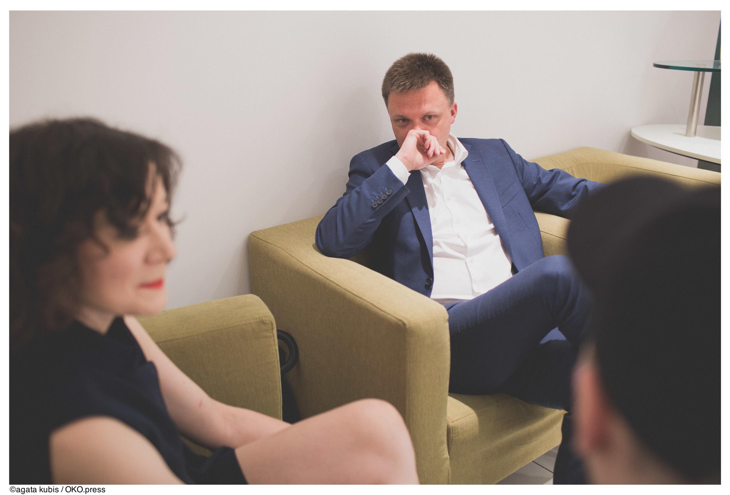 Szymon Hołownia - wywiad OKO.press