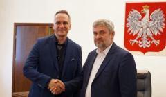 Wojciech Kurkowski i minister Ardanowski