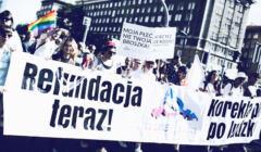 Protest osób trans. Protestują przeciwko weto Dudy do ustawy o korekcie płci