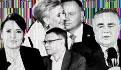 wieczór wyborczy w TVP