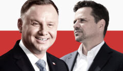 Andrzej Duda, Rafał Trzaskowski, wyniki late poll