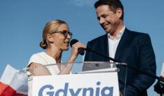 Spotkanie powyborcze Rafala Trzaskowskiego w Gdyni