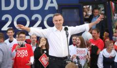 Andrzej Duda w Końskich