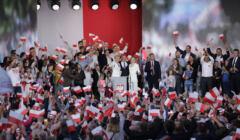 Wieczór wyborczy Andrzeja Dudy 12 lipca