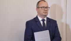 Konferencja prasowa Rzecznika Praw Obywatelskich Adama Bodnara ws kasacji Procesu Brzeskiego