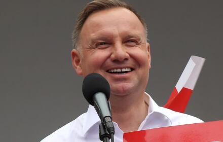 Wypowiedź na wiecu w Bolesławcu