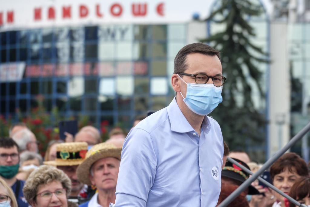 Mateusz Morawiecki na wiecu poparcia dla Andrzeja Dudy