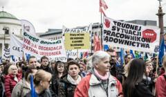 Ogolnopolska manifestacja OPZZ pod nazwa Mamy dosc