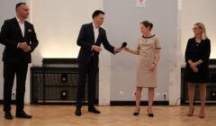 Prezentacja programu ruchu '' Polska 2050 '' w Warszawie