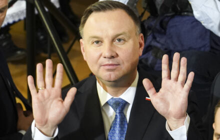 Andrzej Duda - padł ofiarą pranksterów