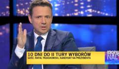 Rafał Trzaskowski w TVN24