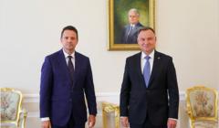 Rafał Trzaskowski, Andrzej Duda, 30 lipca 2020, fot. Jakub Szymczyk, Kancelaria Prezydenta