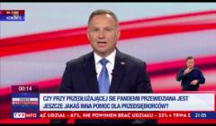 Andrzej Duda w TVP: Szczepienia obowiązkowe nie muszą być obowiązkowe