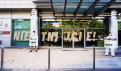 Akcja Greenpeace Nie tnijcie