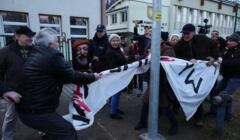 Kampania Andrzeja Dudy w Rabce i protest KOD