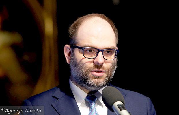 Wiceminister kultury, Paweł Lewandowski, fot. Kuba Atys / AG