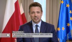 Trzaskowski w Polsacie o Polsce bez Jarosława Kaczyńskiego