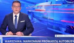 Wiadomości 8 lipca - w Warszawie narkomani prowadzą autobusy