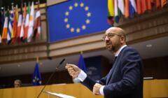 Przewodniczący Rady Europejskiej Charles Michel
