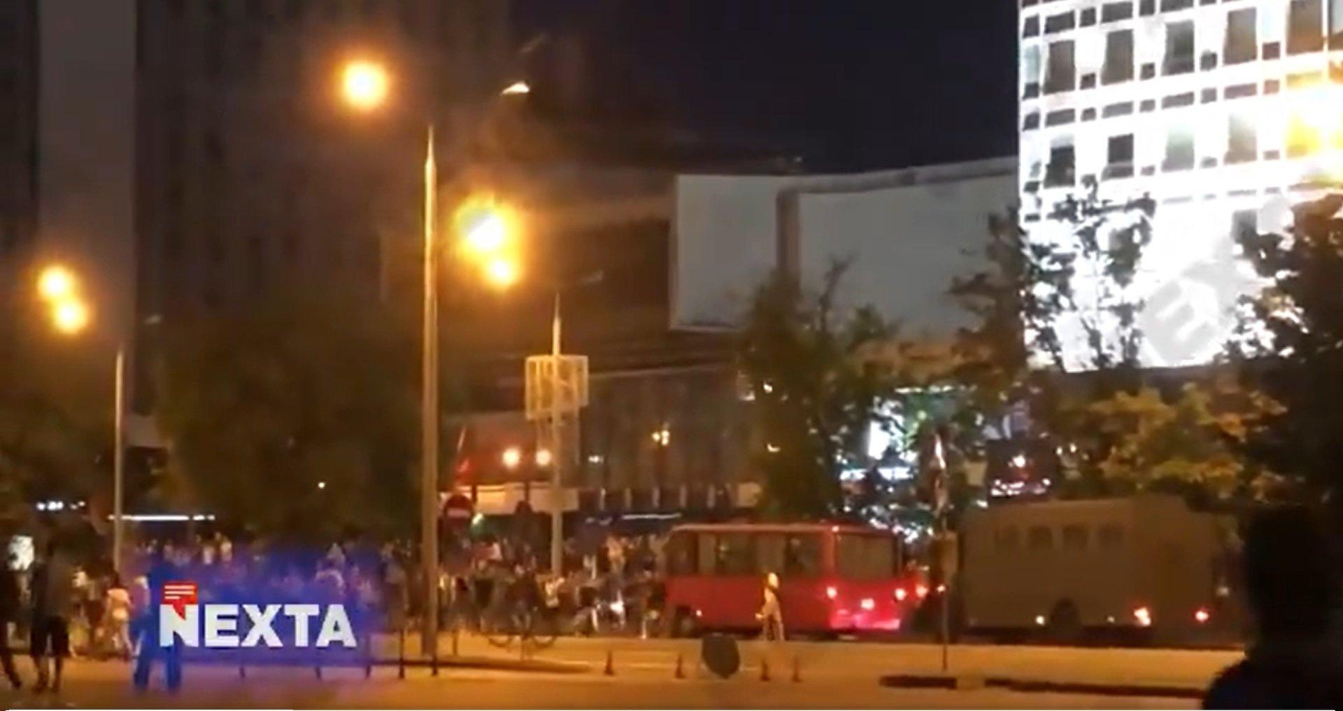 Białoruś. Łukaszenka ogłosił zwycięstwo, Mińsk miastem w stanie rewolucji