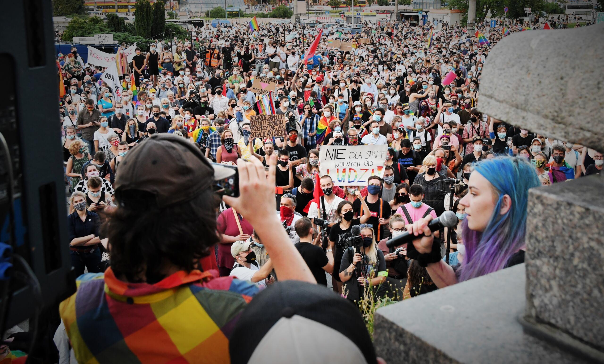 Warszawa jak Moskwa. Kaja Godek forsuje zakaz manifestacji osób LGBT