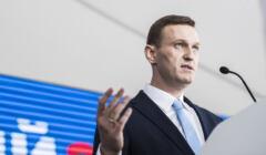 Lider rosyjskiej opozycji Aleksiej Nawalny