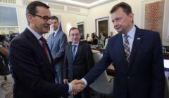 Mateusz Morawiecki, Mariusz Błaszczak i Mariusz Kamiński - jak będzie wyglądała rekonstrukcja rządu?