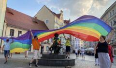 Zielona Góra protestuje przeciw homofobii