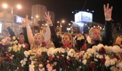 białoruś - rewolucja nie słabnie