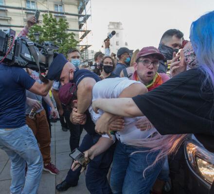 Zatrzymanie Margo - protesty w obronie aktywistki