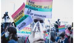 8.08.2020, Demonstracja solidarnościowa z osobami LGBT+