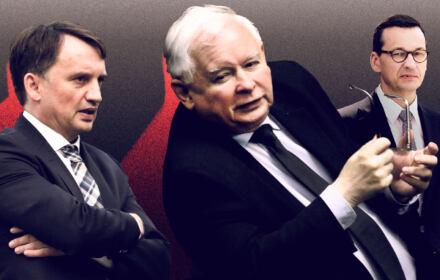 Ziobro Kaczyński konflikt
