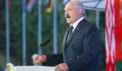 Alaksandr Łukaszenka przemawia