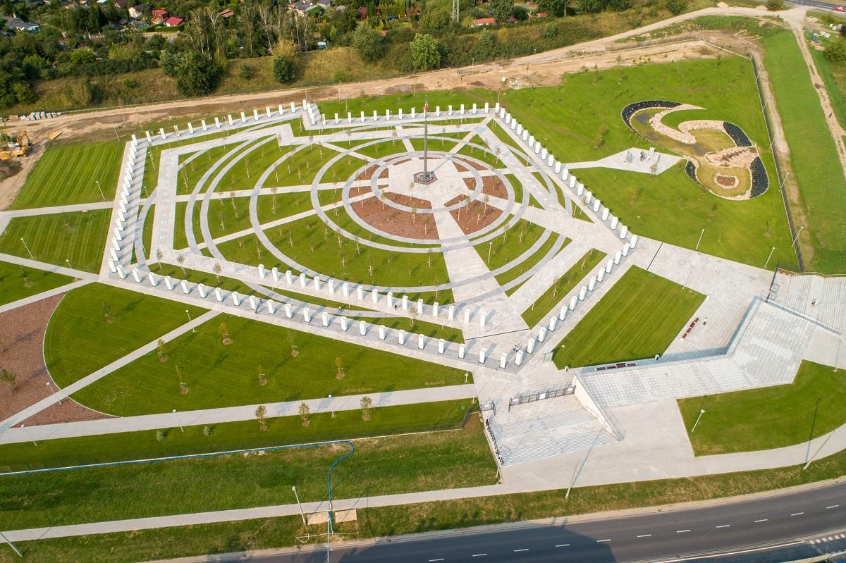 Park Pamięci Narodowej wybudowany przez fundację Lux Veritatis