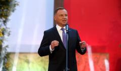 Andrzej Duda przemawia