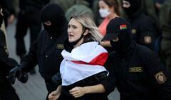 Mińsk, protest kobiet, 19 września