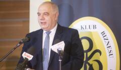 Wicepremier Jacek Sasin - spotkanie w Białostockim Klubie Biznesu