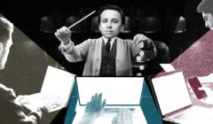 Krzysztof Bosak dyrygujący ludźmi piszącymi w sieci podczas kampanii wyborczej