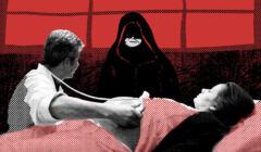 Ilustracja do tekstu, którego tematem jest zakaz aborcji w Polsce