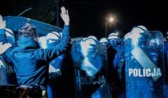 Protest po wyroku TK w sprawie aborcji 22.10.2020