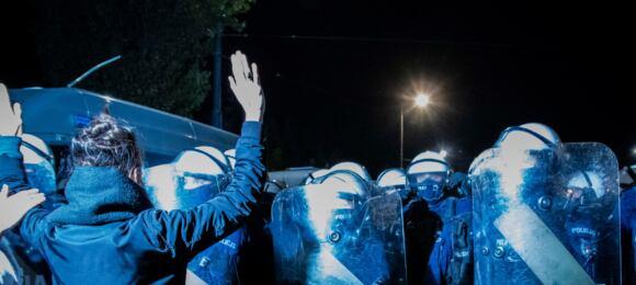 Protest powyroku TK wsprawie aborcji 22.10.2020
