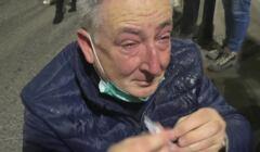 Bartłomiej Sienkiewicz zaatakowany gazem podczas protestu