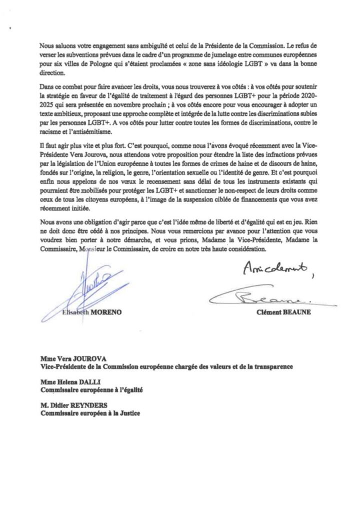 List francuskich ministrów