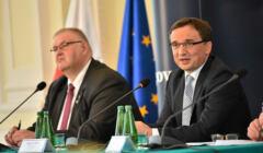 Konferencja prasowa Zbigniewa Ziobro