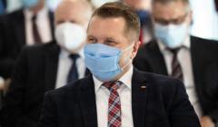 minister Przemysław Czarnek o czterech filarach powrótu do szkół
