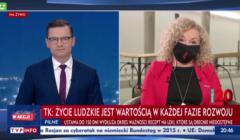 Katarzyna Kotula w TVP Info