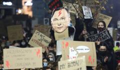 Protest we Krakowie przeciw zaostrzeniu prawa aborcyjnego