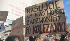 Łódź, strajk, 28 10 2020