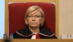 Julia Przyłębska podczas posiedzenia Trybunału Konstytucyjnego
